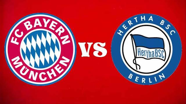 Prediksi Bundesliga German Hertha Berlin vs Bayern Munchen 29 September 2018 Pukul 01.30 WIB
