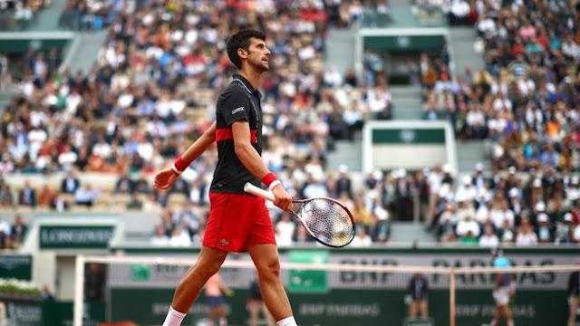 Prancis Terbuka: Djokovic Ditumbangkan Petenis Non unggulan di Perempatfinal