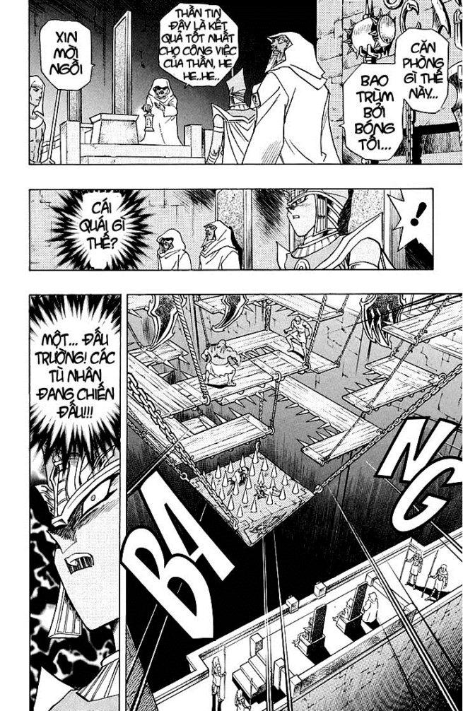 YUGI-OH! chap 309 - bóng đêm dậy sóng trang 12