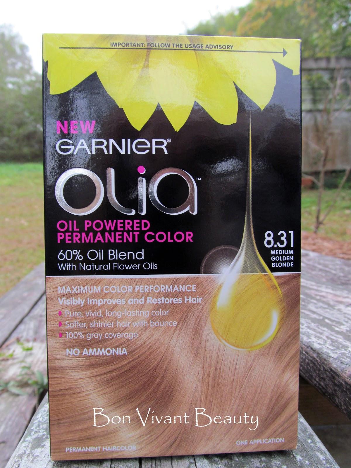 Bon Vivant Beauty: Olia Oil Powered Permanent Hair Color ...