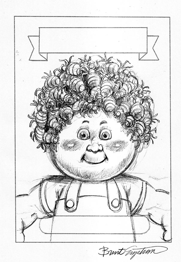 garbage pail kids coloring pages - photo#3