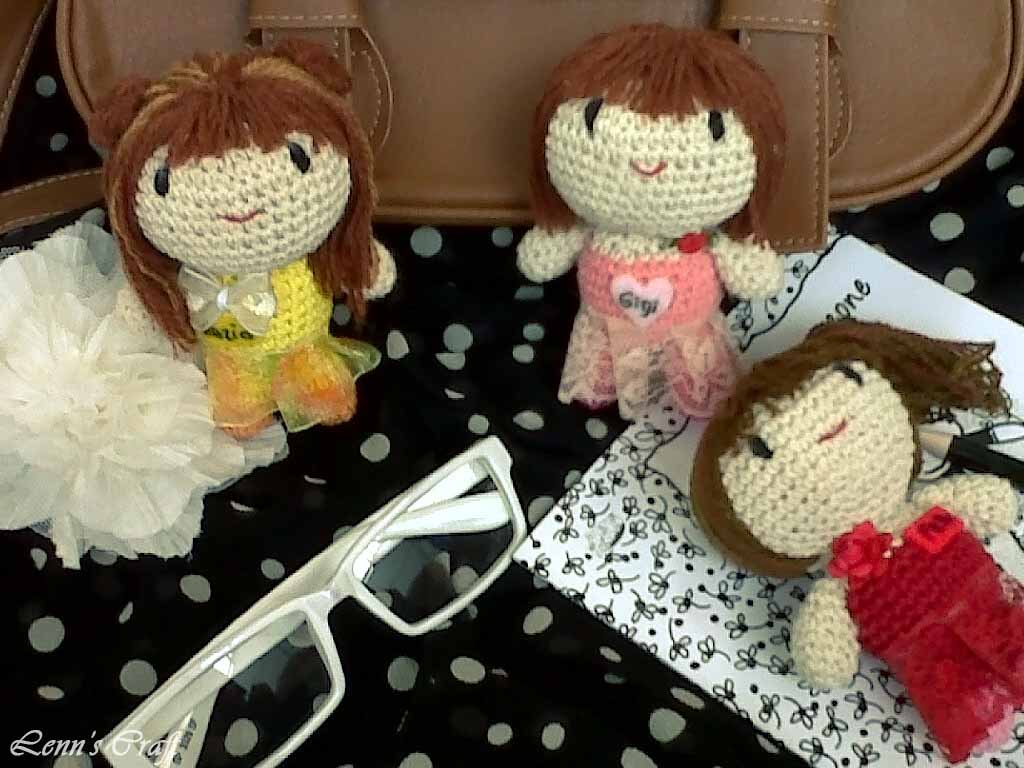 Lenns Craft Handmade Doll Amigurumi Lenns Craft And