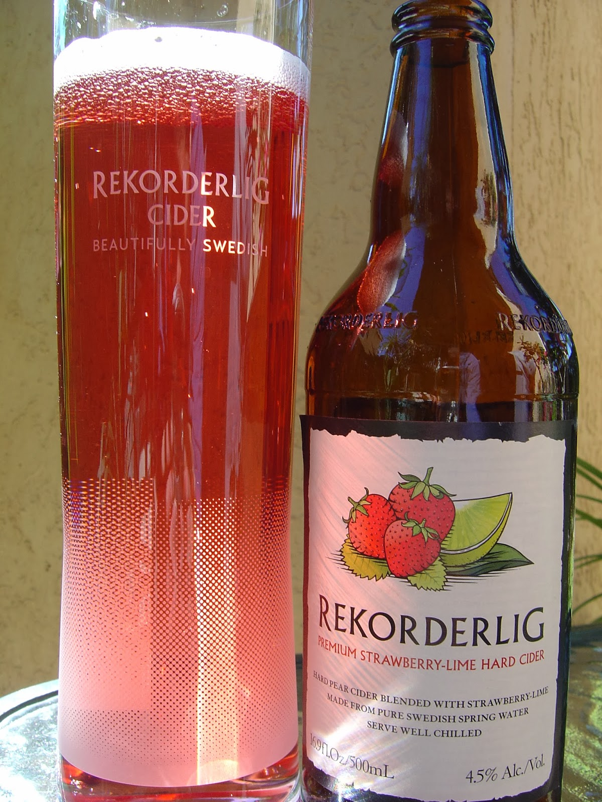 Daily Beer Review Rekorderlig Premium Strawberry Lime