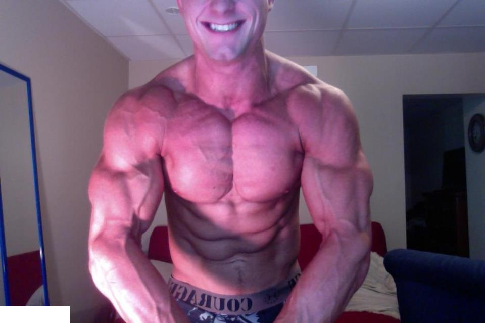 Daily Bodybuilding Motivation: Young Justin Okerstrom