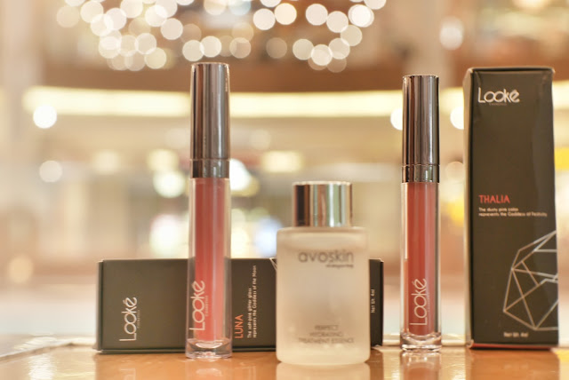 Looke Cosmetics Holy Lip Series & Avoskin PHTE