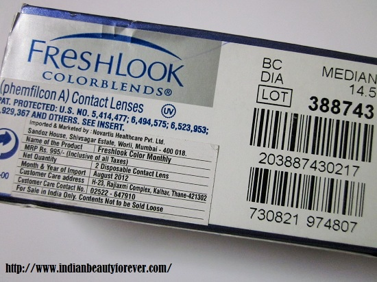 Freshlook Color Blends