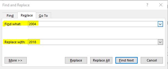 Cara ganti semua Text yang salah di Microsoft Word