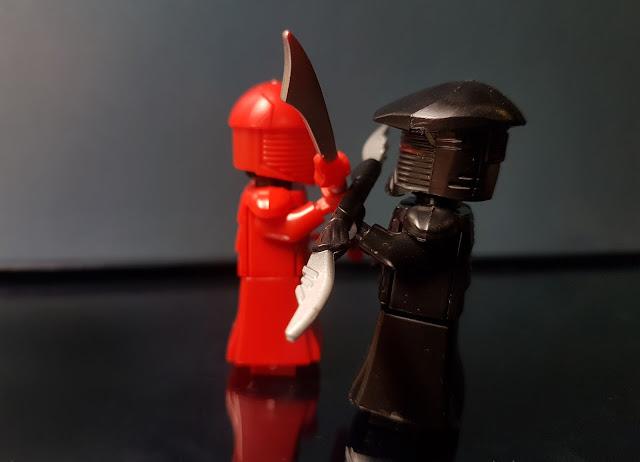 Elite Praetorian Guard Snoke guards First Order Star Wars lego, Red guard