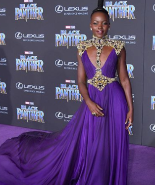 Lupita Nyong'o, Angela Bassett, Janelle Monae and more dazzle at Black Panther premiere
