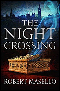 """The Night Crossing"" by Robert Masello (Book cover)"
