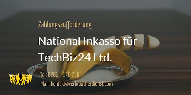 Beitragsbild: Zahlungsaufforderung  | National Inkasso für TechBiz24 Ltd.