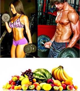 Frutas entrenamiento pesas potenciar rendimiento hambre