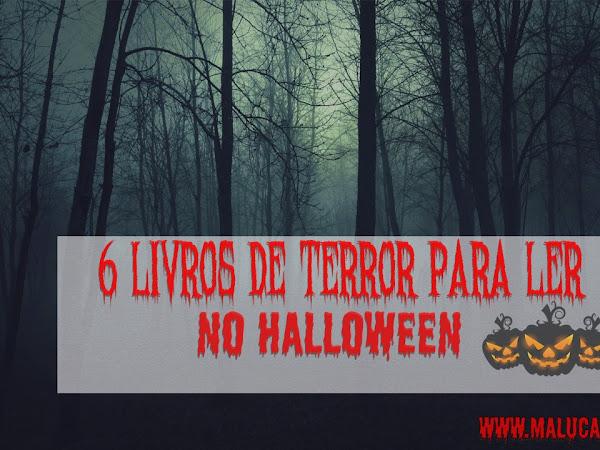 [Top 6] Livros de terror para ler no Halloween
