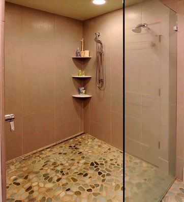 contoh model desain kamar mandi minimalis kecil 2015