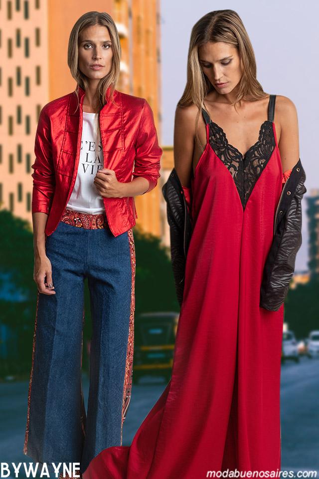 Moda con estilo casual chic urbano en el invierno 2019 de Silvina Ledesma. Moda otoño invierno 2019 │ Moda Argentina otoño invierno 2019 vestidos, blusas y pantalones.