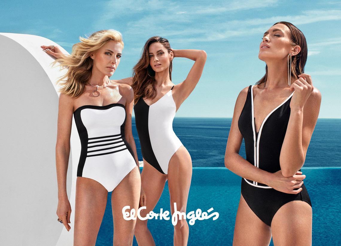 El Corte Inglés Swimwear Campaign 2017
