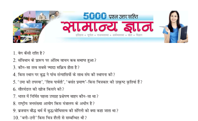 5000 General Knowledge Questions and Answers SSC and other Competitive Exams PDF Download