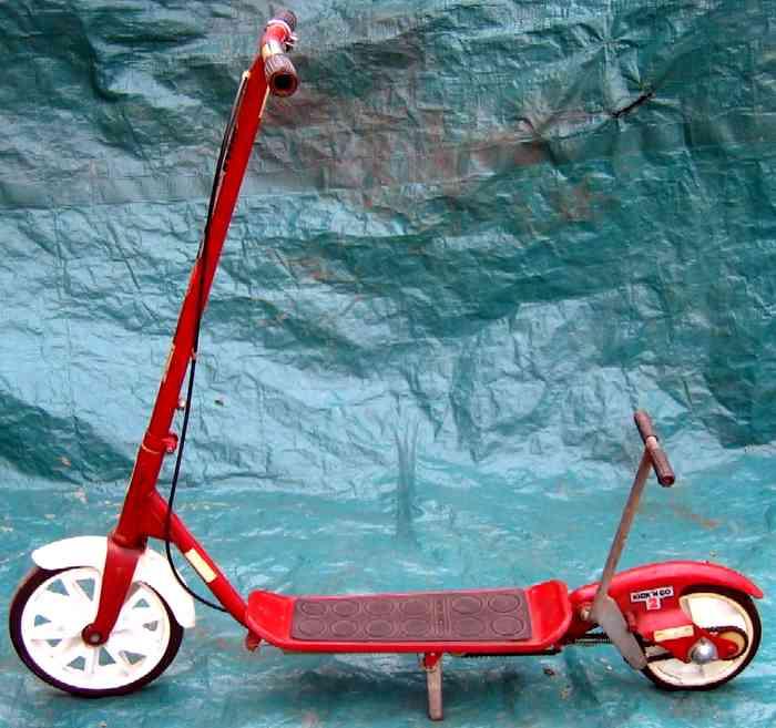 trottinette Honda Kick'n GO 2 à deux roues