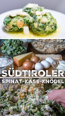 Outdoor Kitchen 02 | Südtiroler Spinat-Käse-Knödel | Rezept-Spinatknödel | Südtiroler-Spezialität | Zubereitung-Käseknödel
