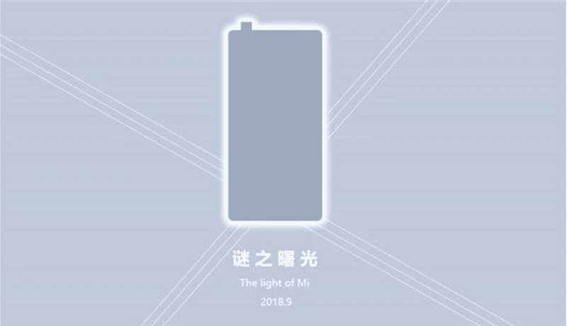 Xiaomi's Mi MIX 3 could have a Vivo-like pop-up selfie camera to eliminate the notch