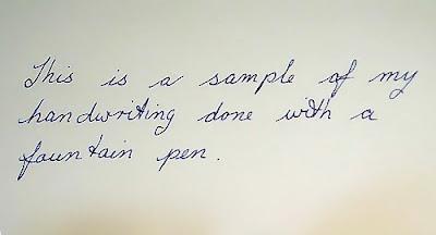 İlkokul el yazısı