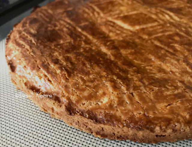 sweet kwisine, cuisine antillaise, galette des Rois, galette sablée, Martinique, cuisine martiniquaise, Guadeloupe, recette facile