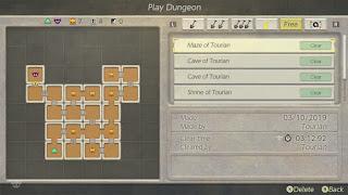 Color Dungeon arrangement