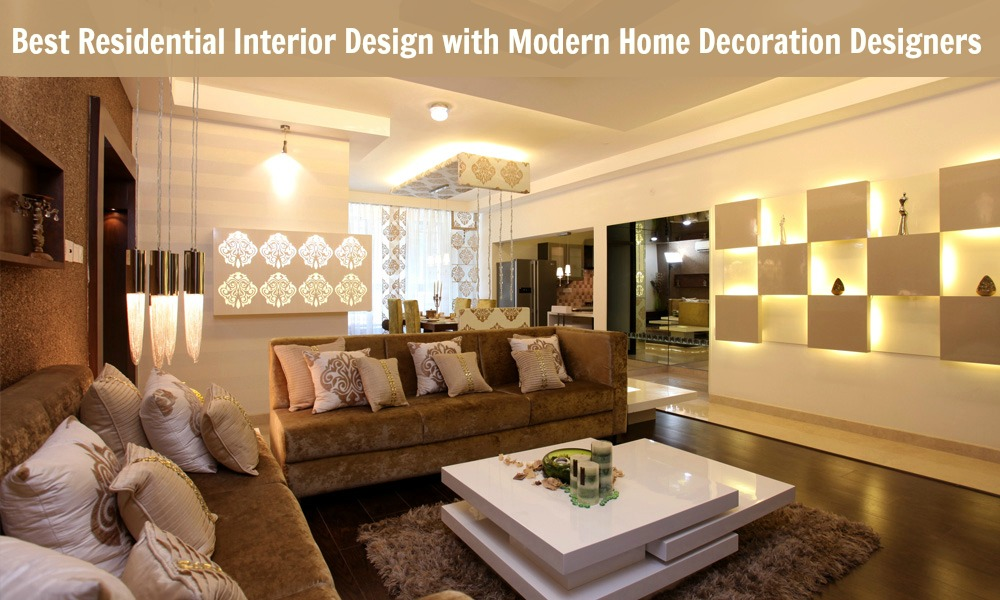 Best Residential Interior Design With Modern Home