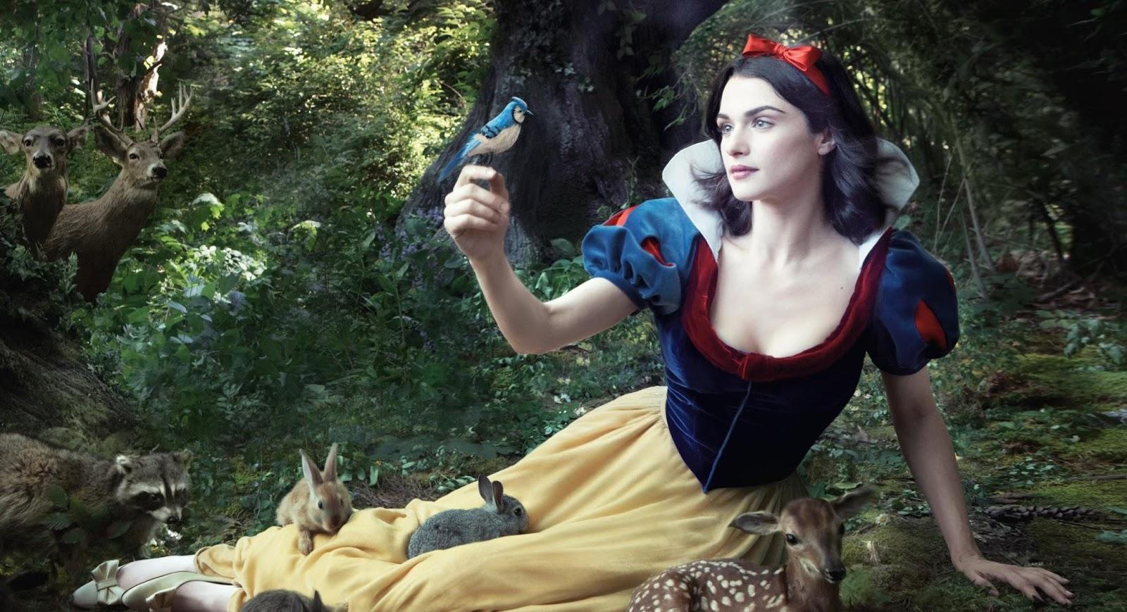 """Disney está desenvolvendo live-action de """"Branca de Neve"""""""