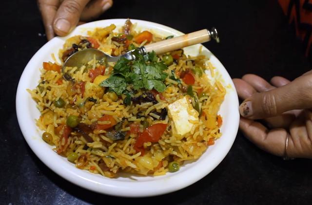 Spiced Vegetable Biryani