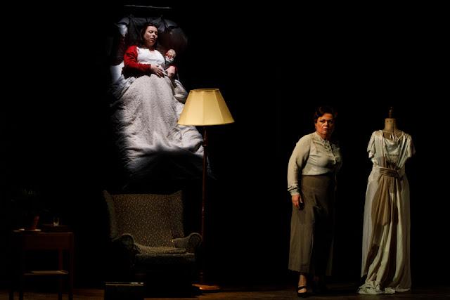 Janacek: Jenufa - Grange Park Opera - Natalya Romaniw, Susan Bullock (Photo Richard Lewisohn)