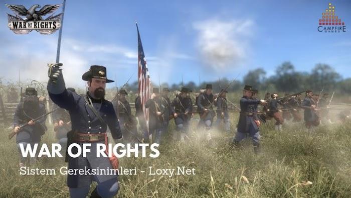 War of Rights Sistem Gereksinimleri