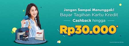 Lumayan! Promo Cashback Bayar Tagihan Kartu Kredit