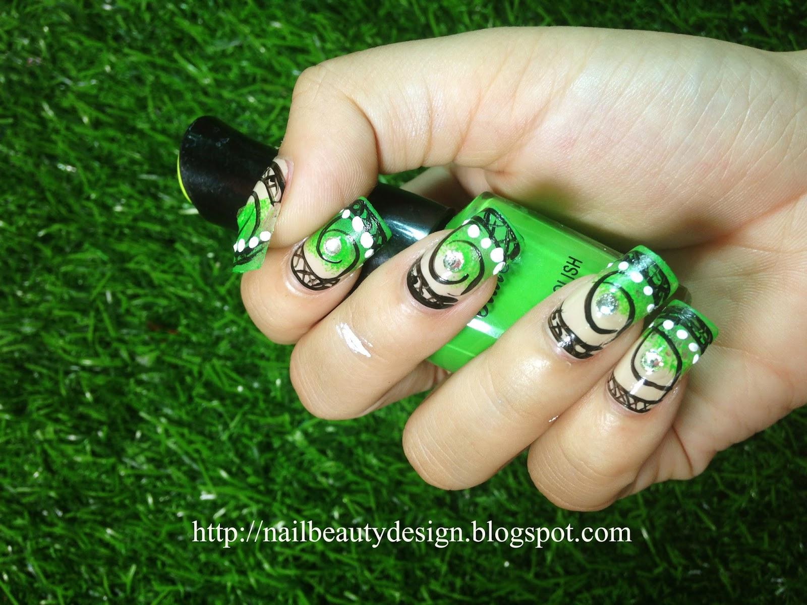 Nail Beauty | Nail Fashion Design Idea | Nail Paint Style #5 - Nail ...
