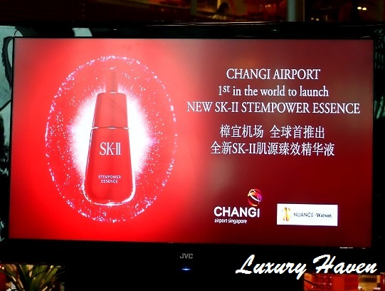 changi airport new sk-ii stempower essence