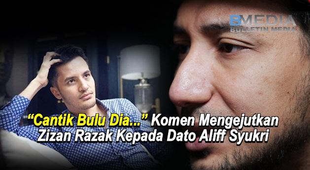 """Cantik Bulu Dia..."" - Komen Mengejutkan Zizan Razak Kepada Dato Aliff Syukri"