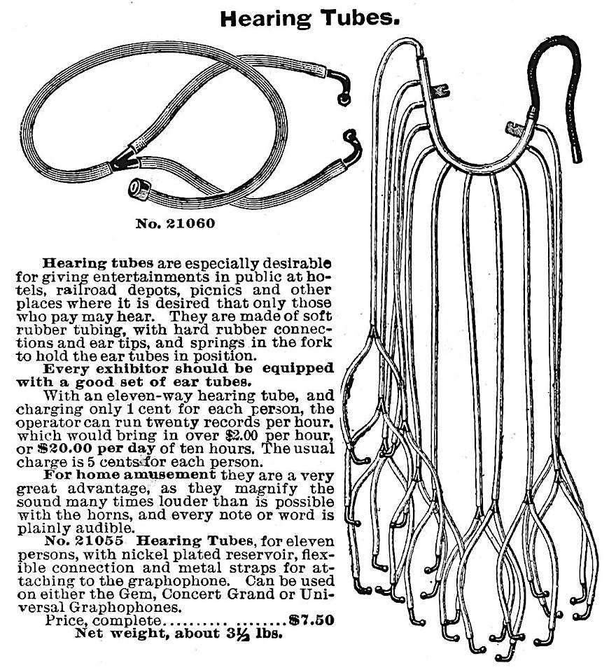 1898 public hearing tubes