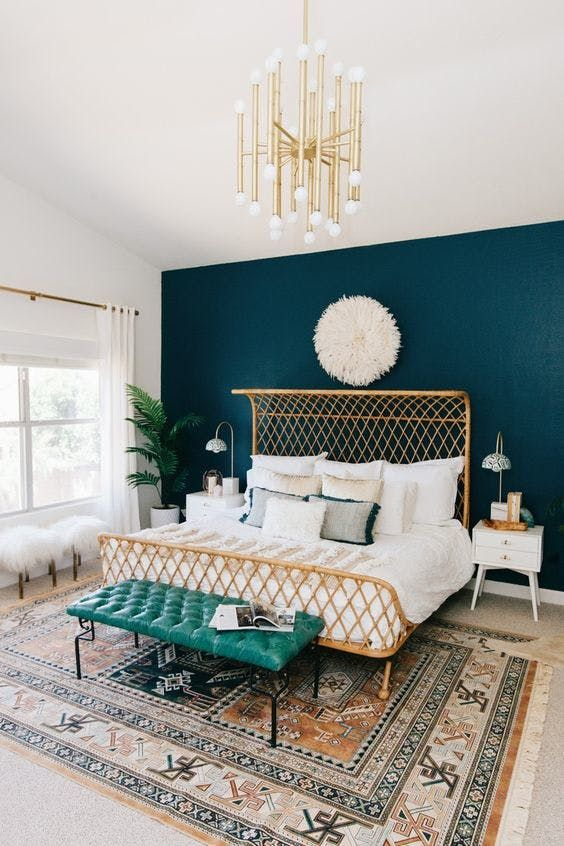 Modern Boho Glam Bedroom // New Year New Room Refresh// Week 2 ...