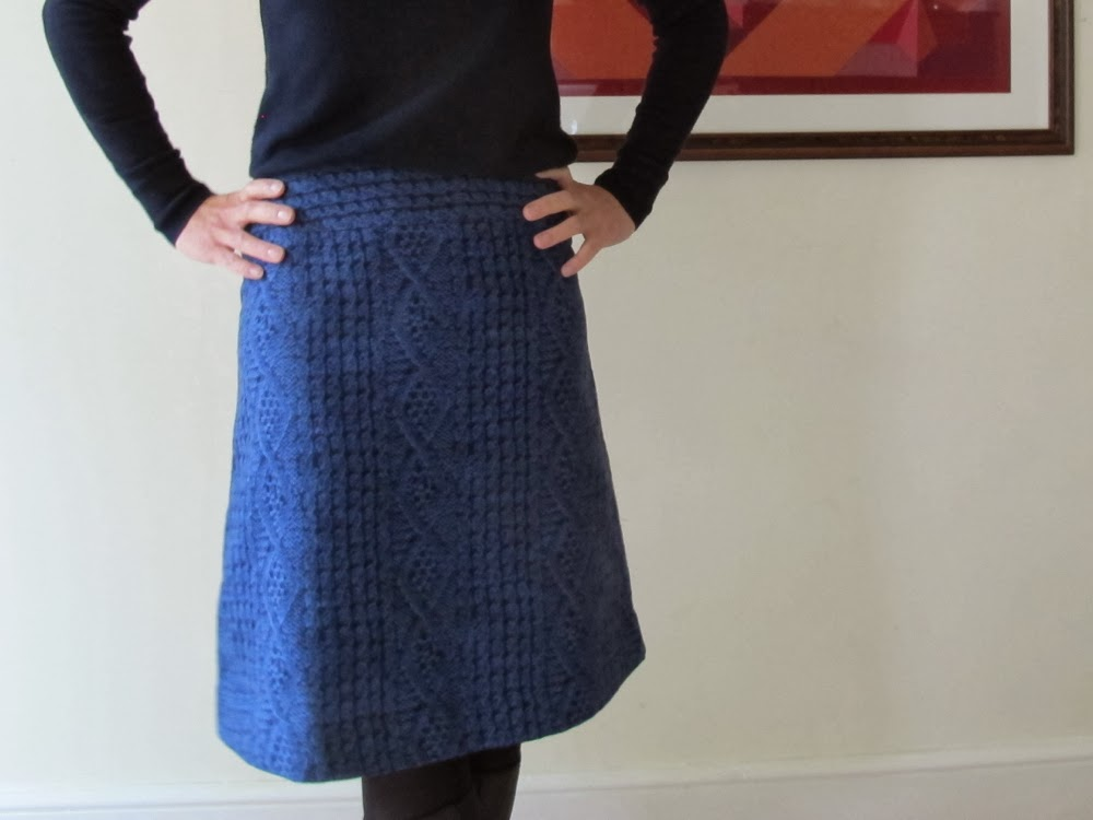 With Reality Knit Skirt