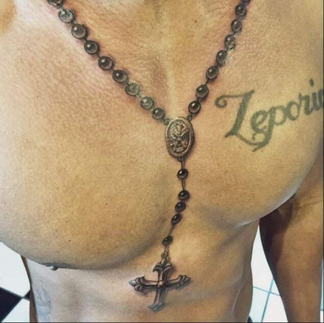 Christian chest Tattoos designs