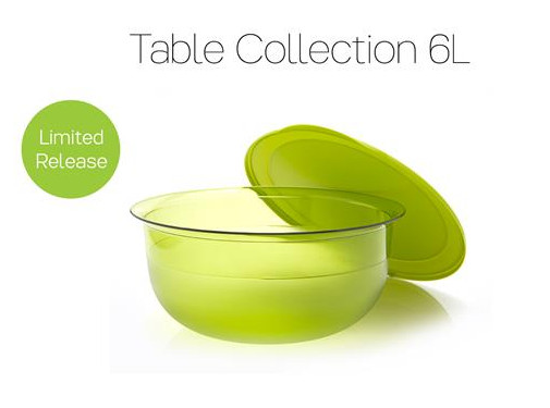 Tupperware  Table Collection 6 L Promo November 2016