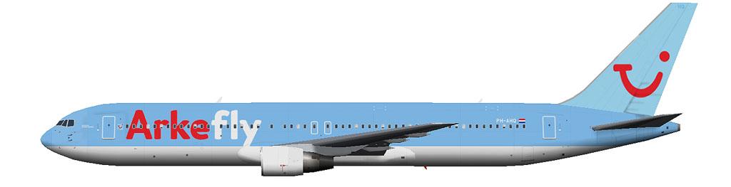 kaese2002.de: Arkefly Boeing 767-300