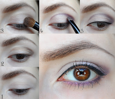 makeup for brown eyes, step by step makeup tutorial
