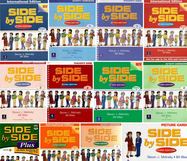 Side by side 1 4 third edition longman audio introduce key words in a lively picture dictionary format how to say it lessons side by side gazettes magazine style pages that offer feature fandeluxe Images