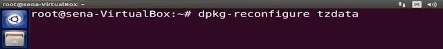 dpkg-reconfigure tzdata