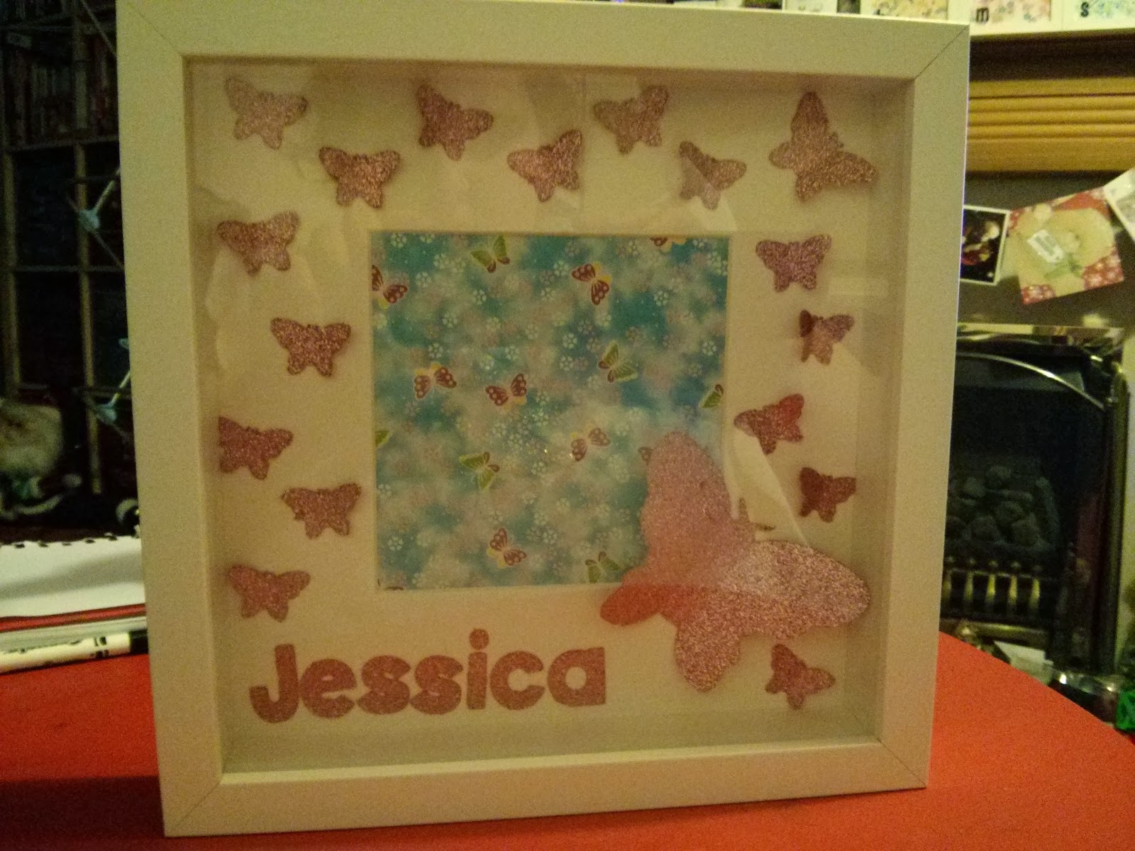 Cricut Mini cut Butterfly picture