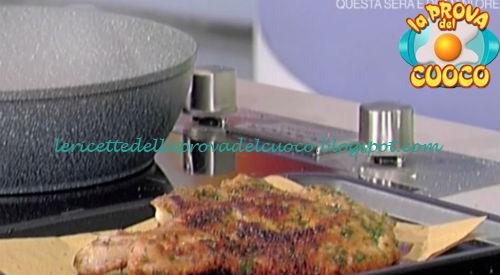 Involtini di tacchino e mortadella con salsa di pomodorini gialli ricetta Bongiovanni da Prova del Cuoco