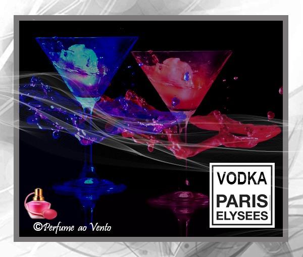 Coleção Vodka da Paris Elysees com Seus Contratipos