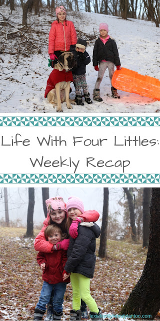 Life With Four Littles: Weekly Recap - Motherhood, Big Family Life, A Gentle Giant & Down syndrome #momblog #motherhood #parenting #specialneeds #Downsyndrome