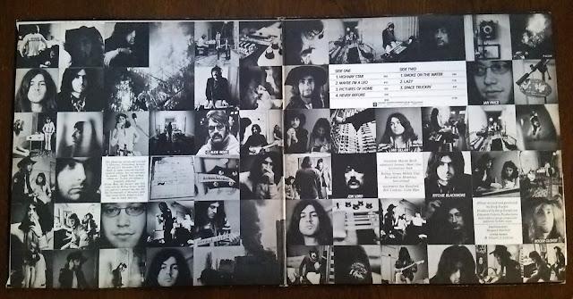 Deep Purple – Machine Head inside ディープ・パープル - マシーン・ヘッド